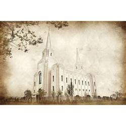 Brigham City Temple - Vintage