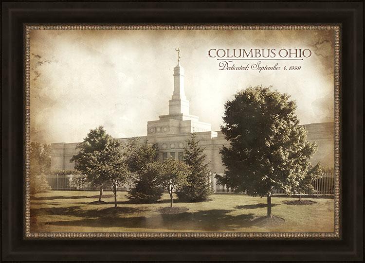 Columbus Temple - Vintage - LDP-VTA-COLU
