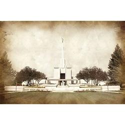 Denver Temple - Vintage