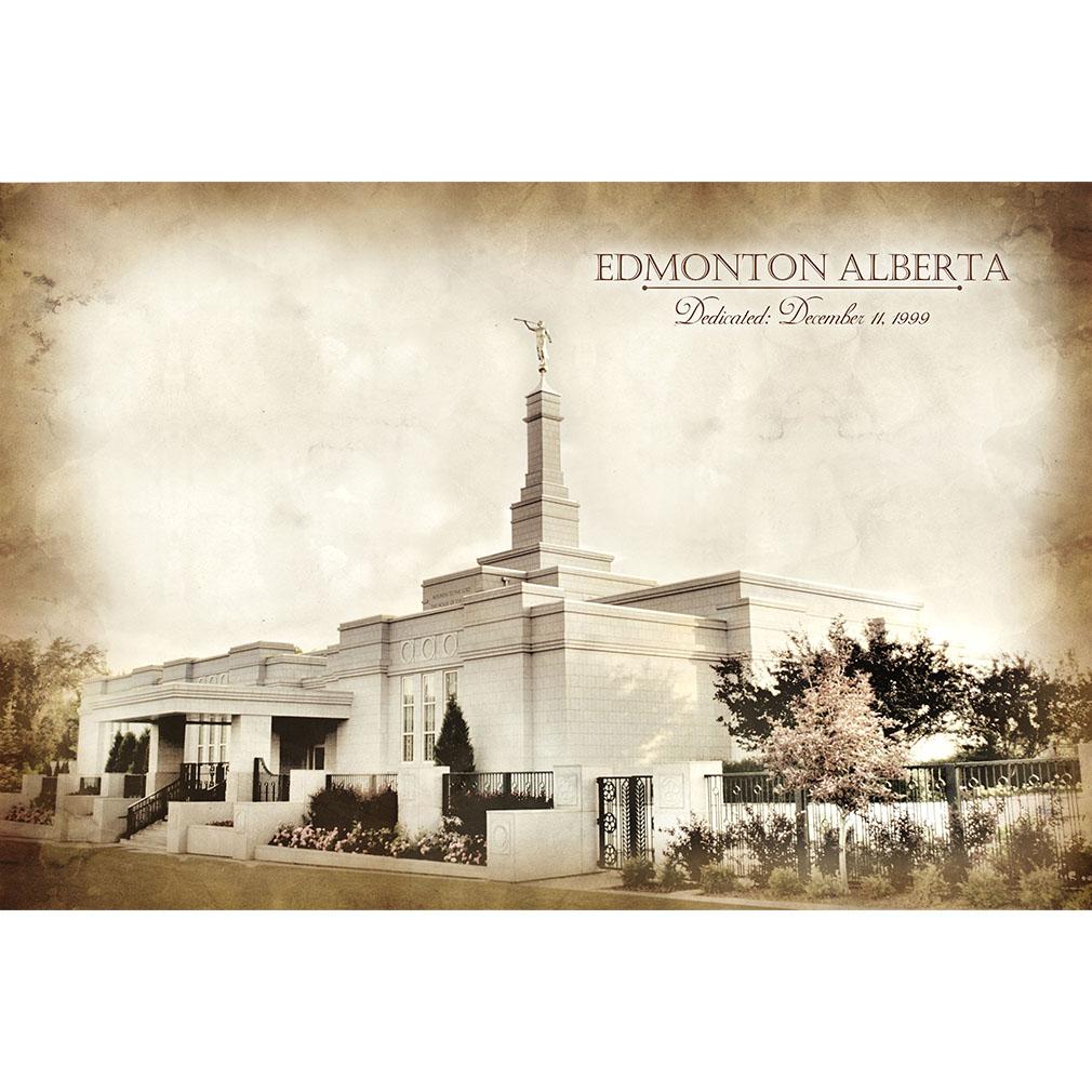 Edmonton Temple - Vintage - LDP-VTA-EDM