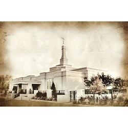 Edmonton Temple - Vintage