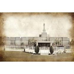 Fresno Temple - Vintage - LDP-VTA-FRE