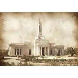 Indianapolis Temple - Vintage