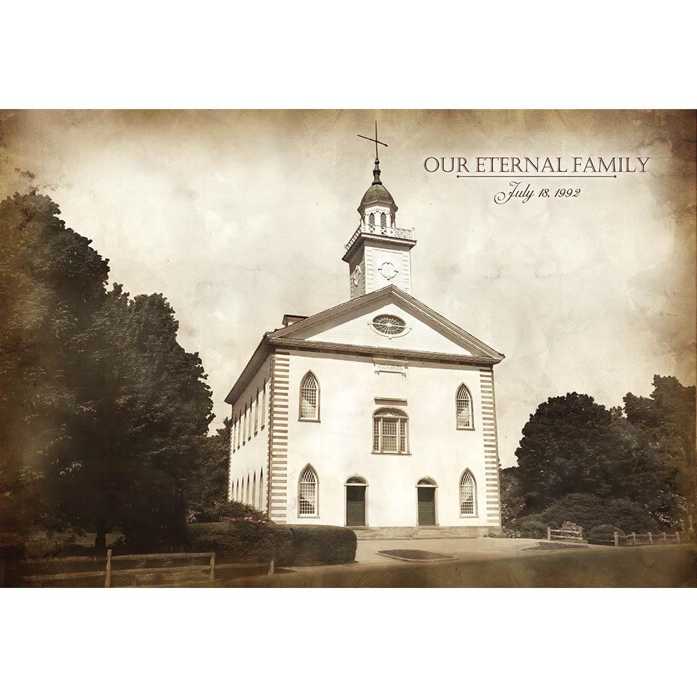 Kirtland Temple - Vintage - LDP-VTA-KIRT