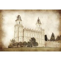 Manti Temple - Vintage  - LDP-VTA-MANTI