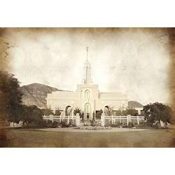 Mount Timpanogos Temple - Vintage  - LDP-VTA-MTTIMP