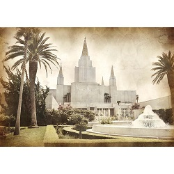 Oakland Temple - Vintage