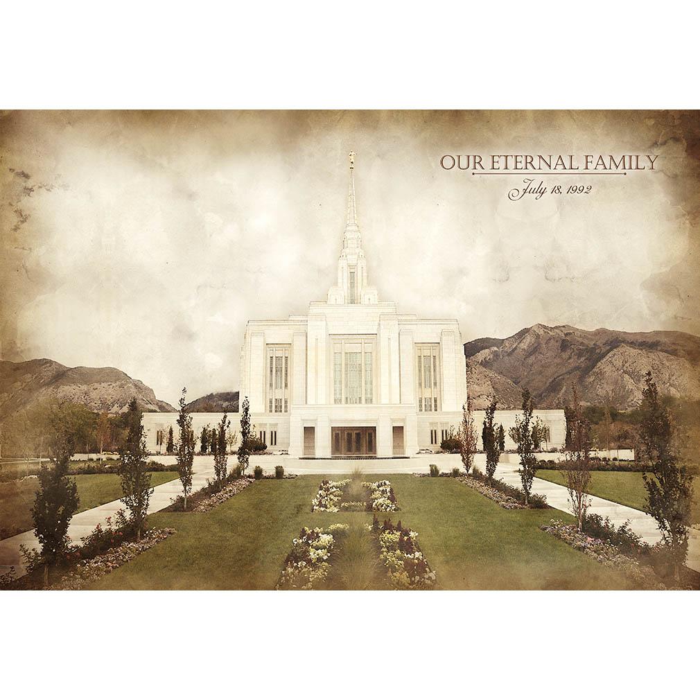 Ogden Temple - Vintage - LDP-VTA-OGD