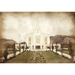 Ogden Temple - Vintage