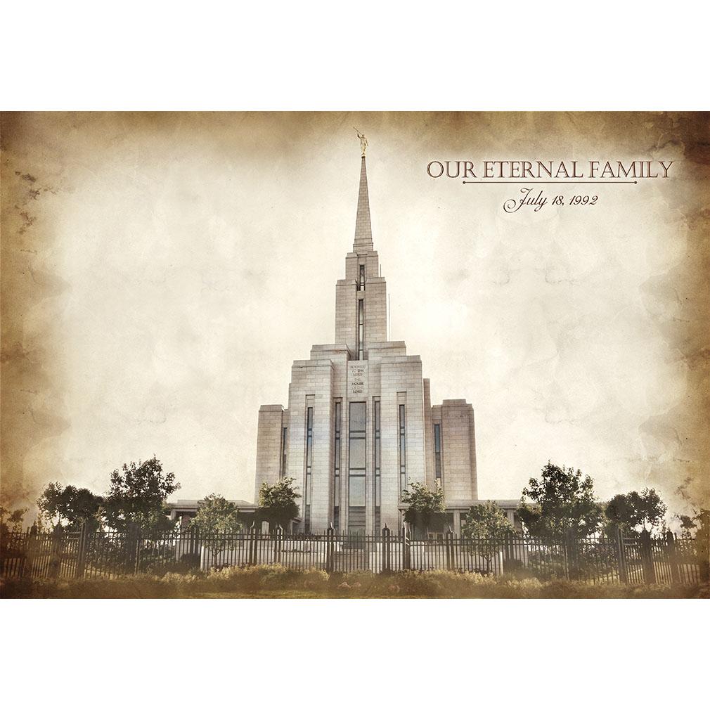 Oquirrh Mountain Temple - Vintage  - LDP-VTA-OQRH