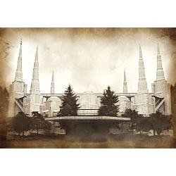 Portland Temple - Vintage