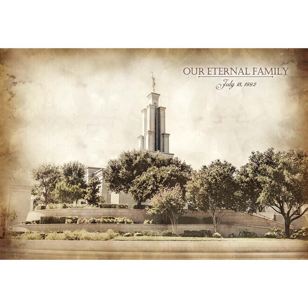 San Antonio Temple - Vintage  - LDP-VTA-SANANT