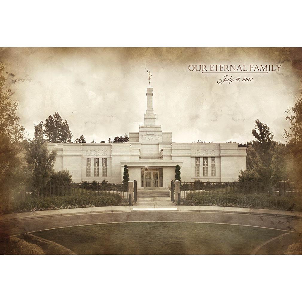 Spokane Temple - Vintage - LDP-VTA-SPOK