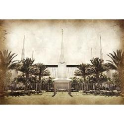 Las Vegas Temple - Vintage