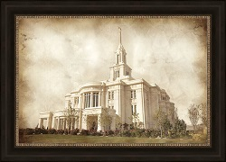 Payson Temple - Vintage