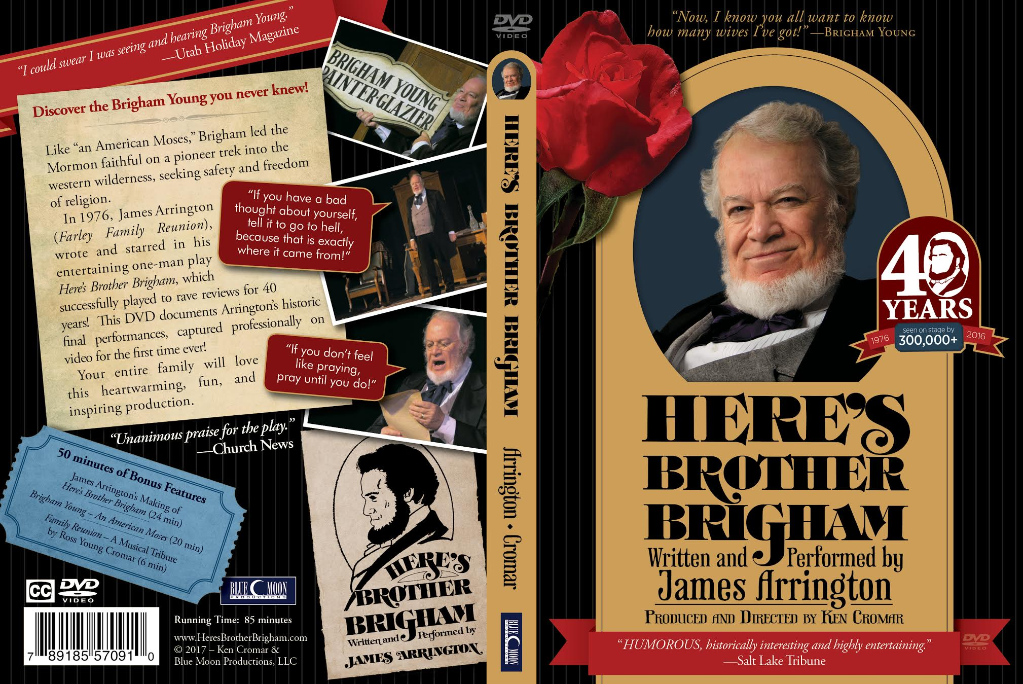 Here's Brother Brigham DVD - BMP-HBB
