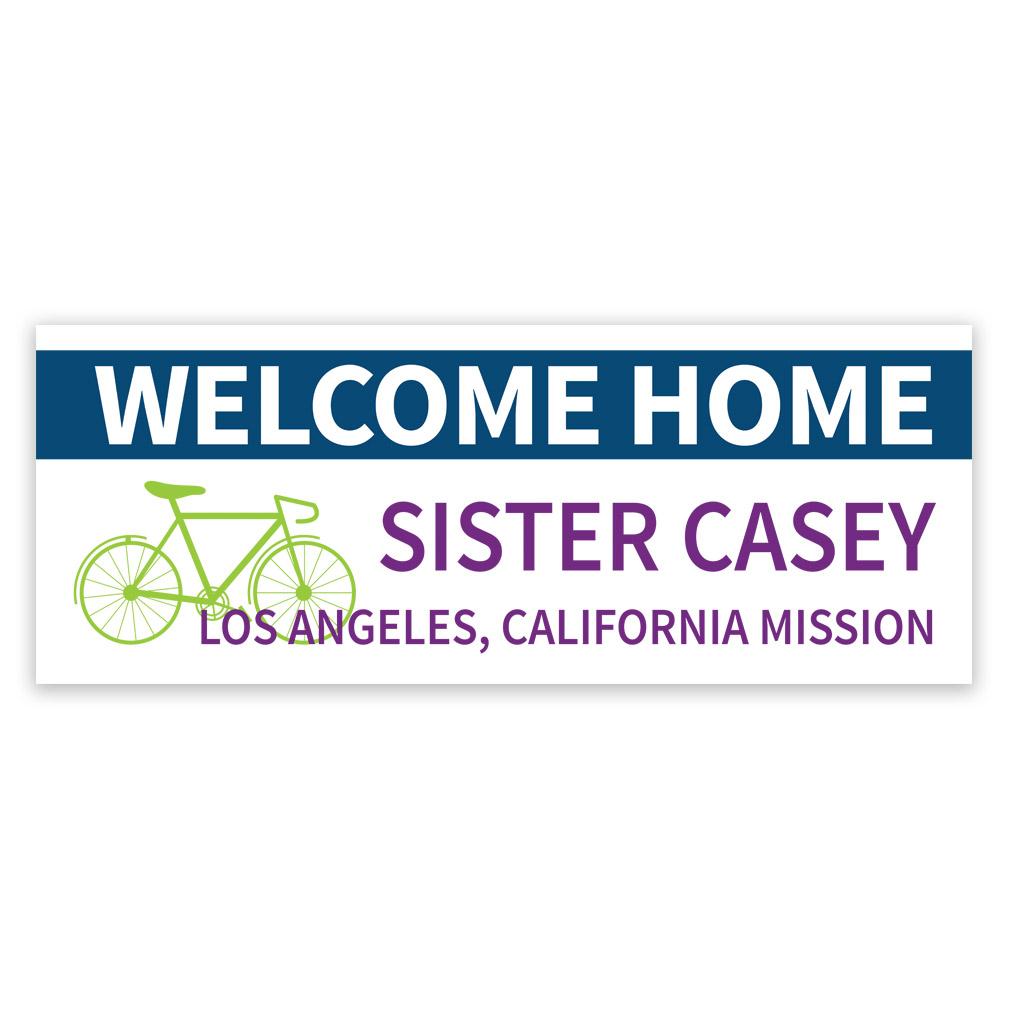 Bike Missionary Banner - LDP-MSPST244