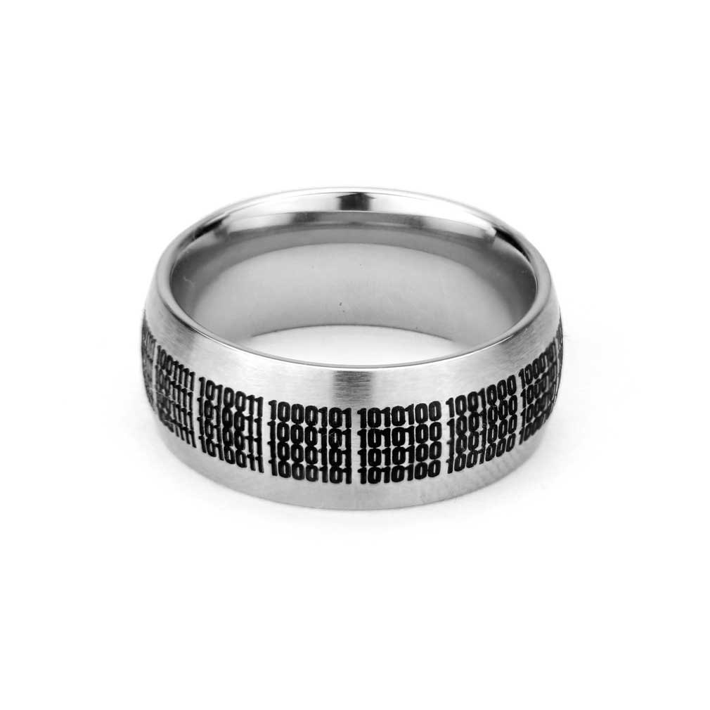 Binary Choose the Right Ring - Wide - LDP-RNGB15109