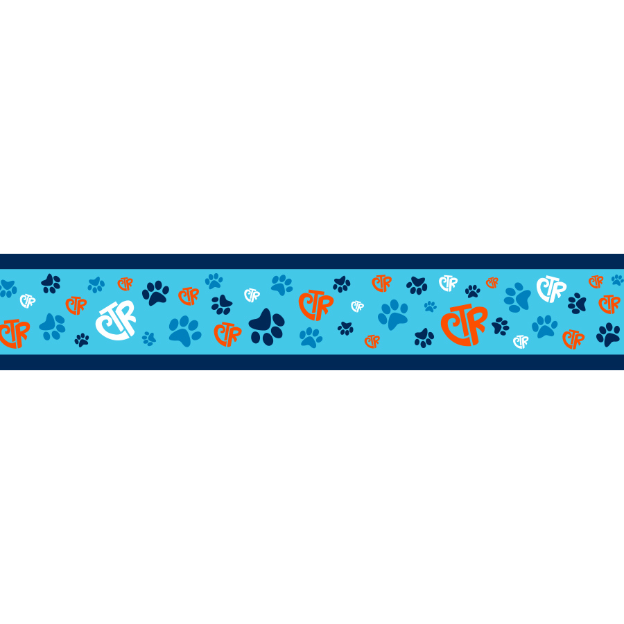 Blue CTR Pet Collar - LDP-PCR25