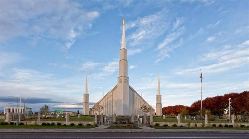 Boise Temple - Front