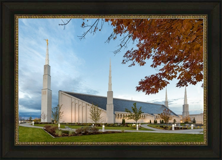Boise Temple - Red Leaves - LDP-BB0008
