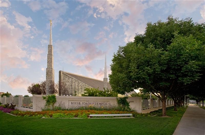 Boise Temple - Tree - LDP-RBBOISETREE