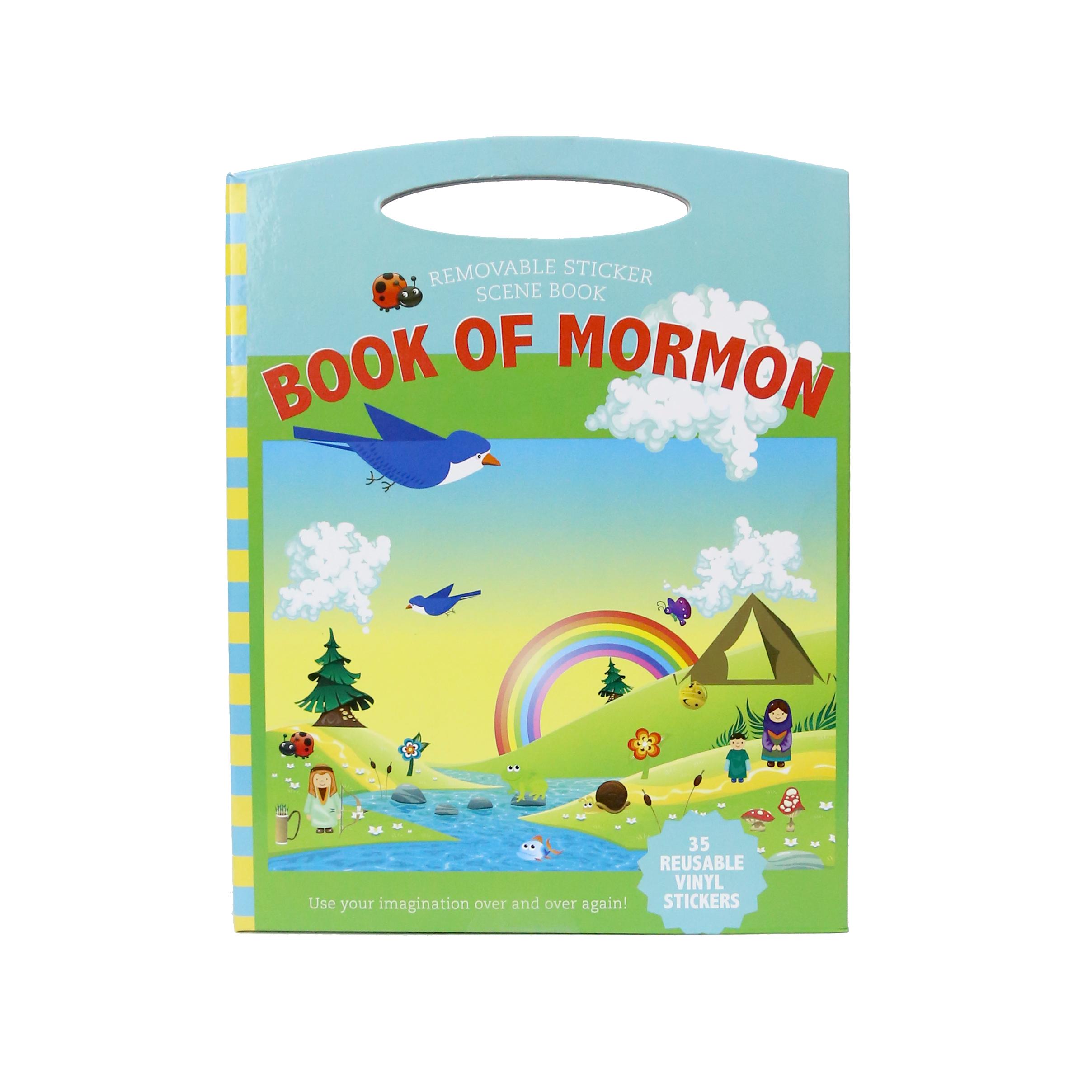 Book of Mormon Removable Sticker Scene Book - CF-P06605