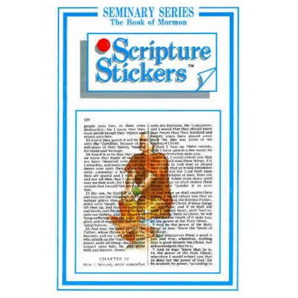 Book Of Mormon Seminary Scripture Stickers In Scripture