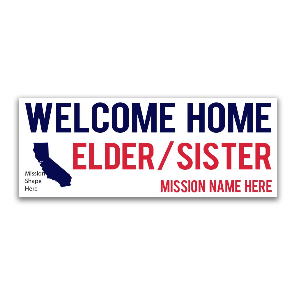 Borders Missionary Banner - LDP-MSPST246