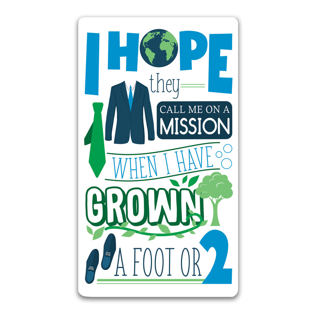 I Hope They Call Me on a Mission Bookmark - Elders