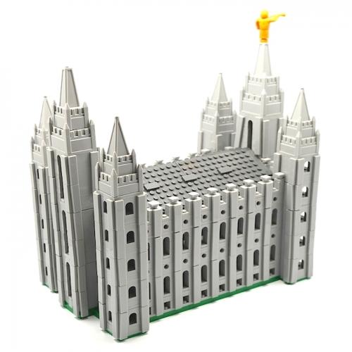 Salt Lake Temple Building Bricks - Large - BY-SLCLARGE
