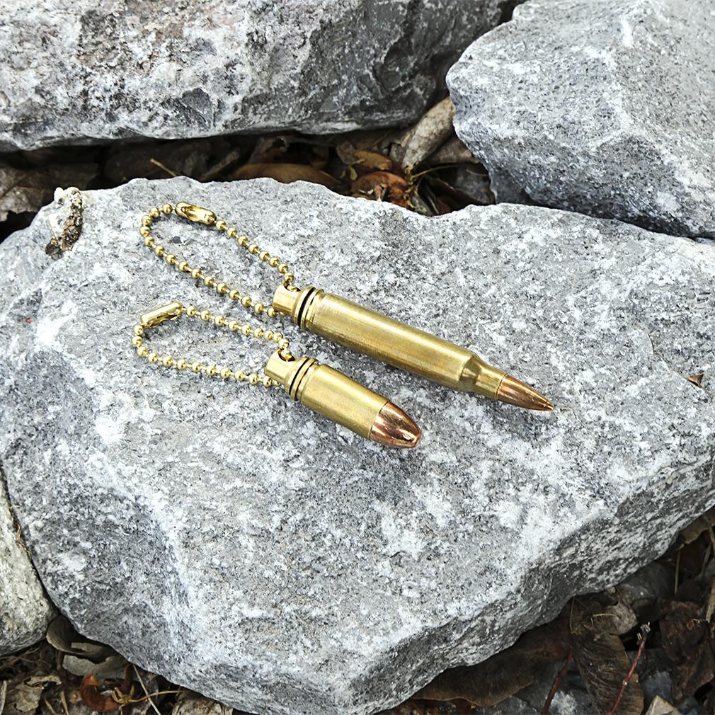 223 Bullet Oil Vial Keychain - GTD-223VIAL
