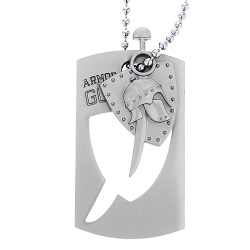 Armor of God Dog Tag - CF-P07311