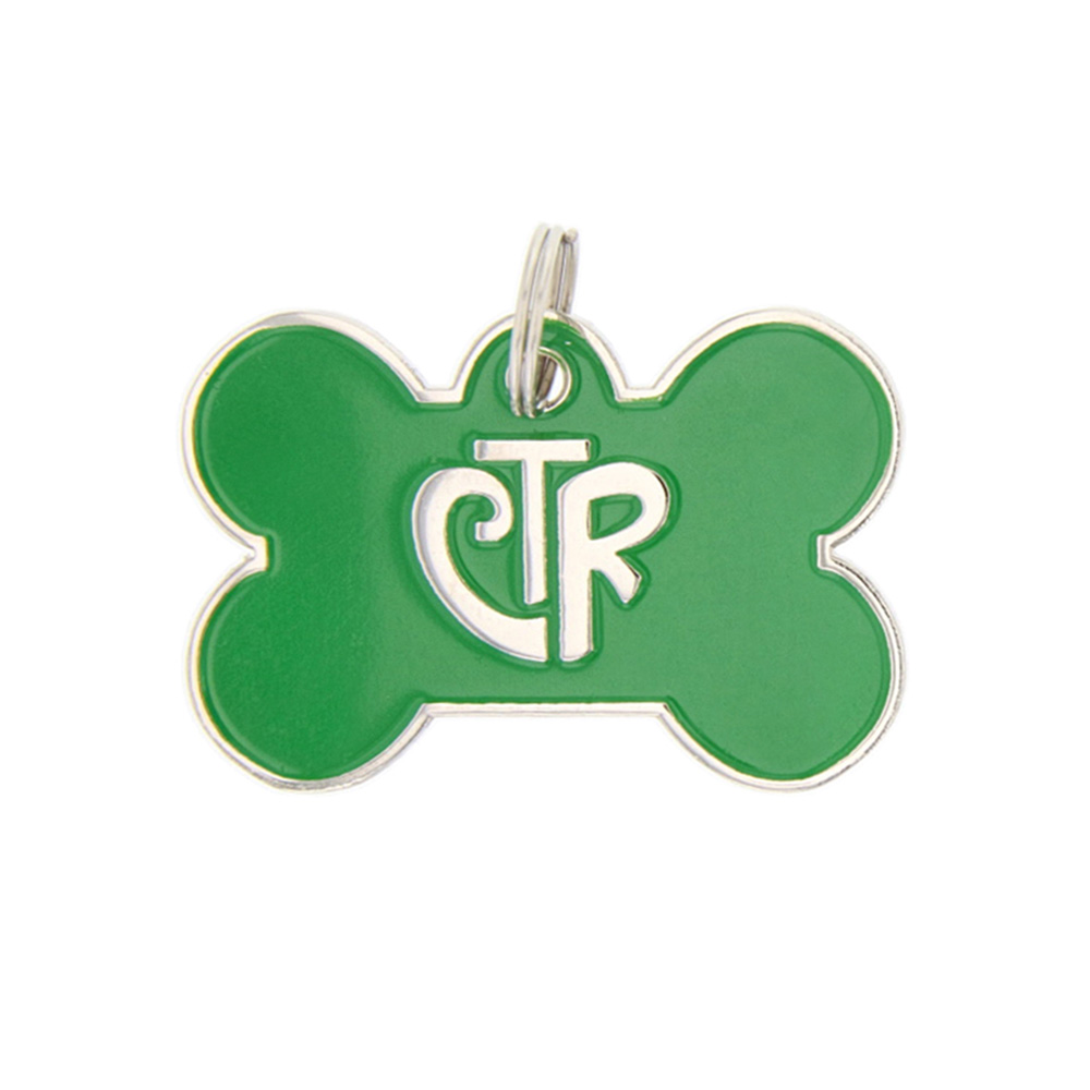 Personalized CTR Pet ID Tag - Bone