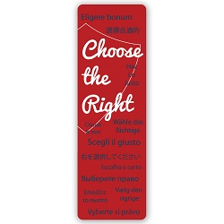 Multi-Language Choose the Right Bookmark