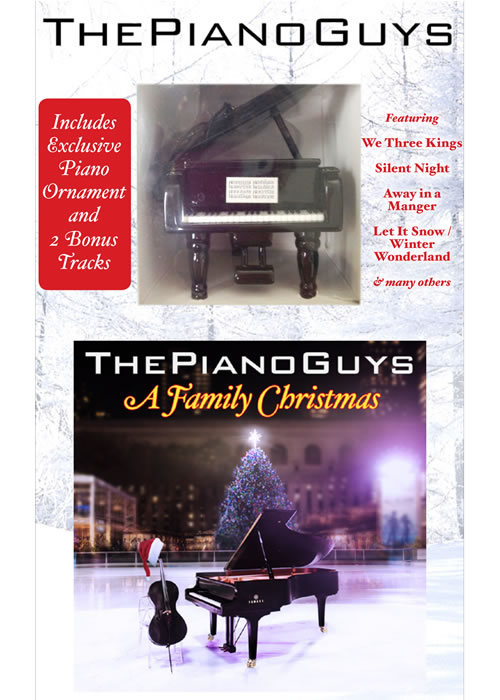 the piano guys a family christmas cd with piano ornament in christmas ldsbookstorecom sbt mbwy376319 cd