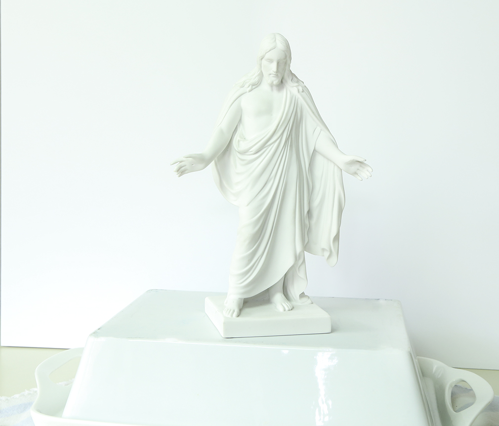 "10"" Marble Christus Statue - OMT-S4"