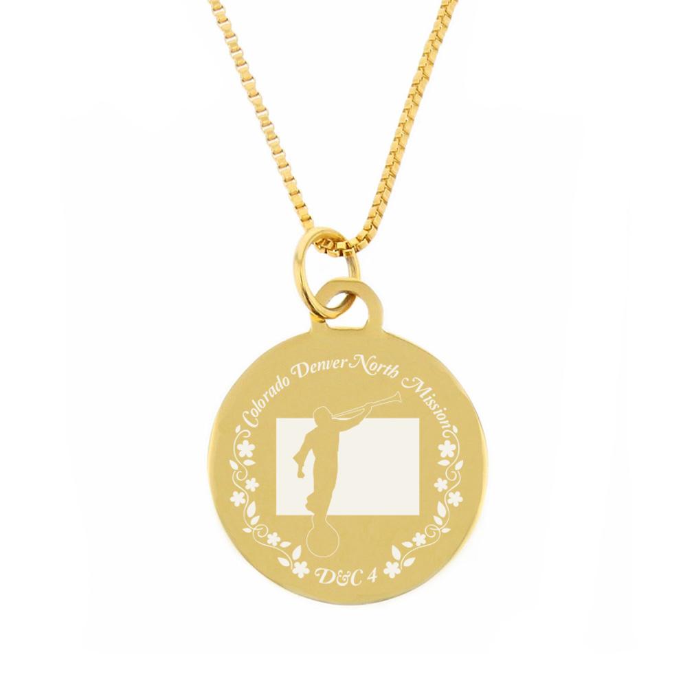 Colorado Mission Necklace - Silver/Gold - LDP-CPN45