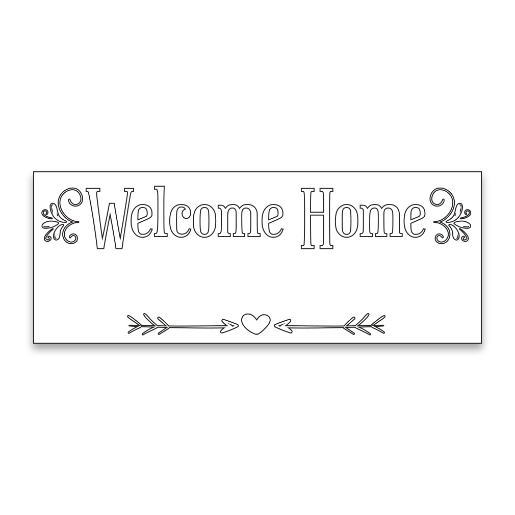 Coloring missionary banner elegant in welcome home for Welcome home coloring pages