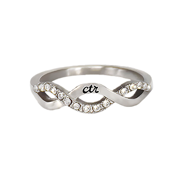 Crossover CTR Ring in CTR Rings LDSBookstorecom RMC17872