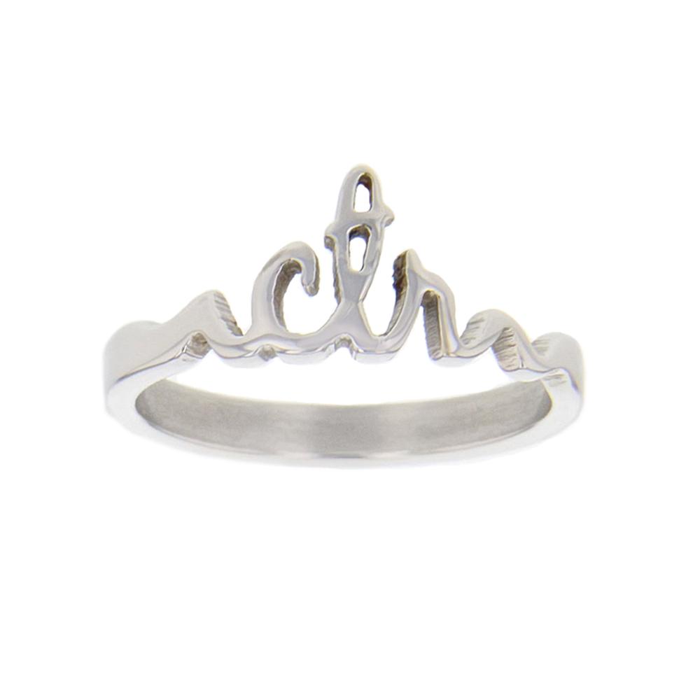 Cursive CTR Ring