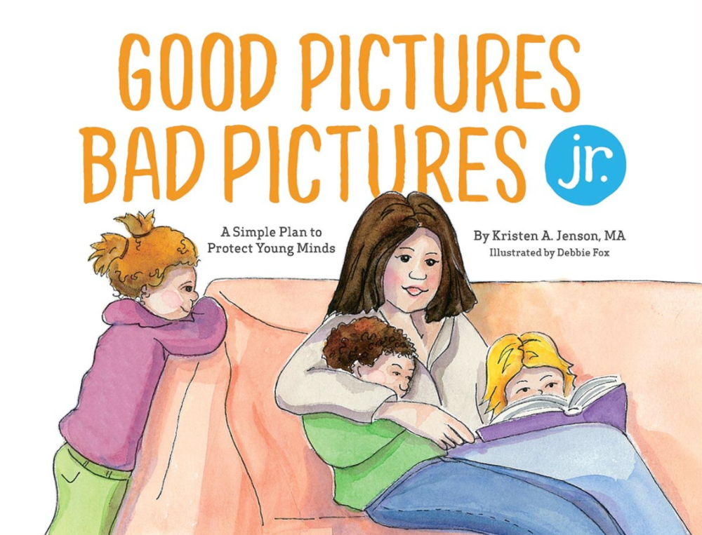 Good pictures bad pictures jr. hardcover kids book