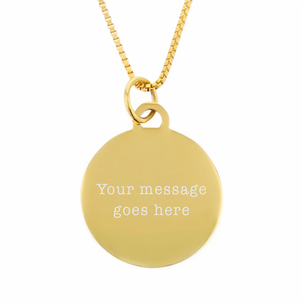 My Heart Is In Country Necklace - Gold - LDP-CPN10156