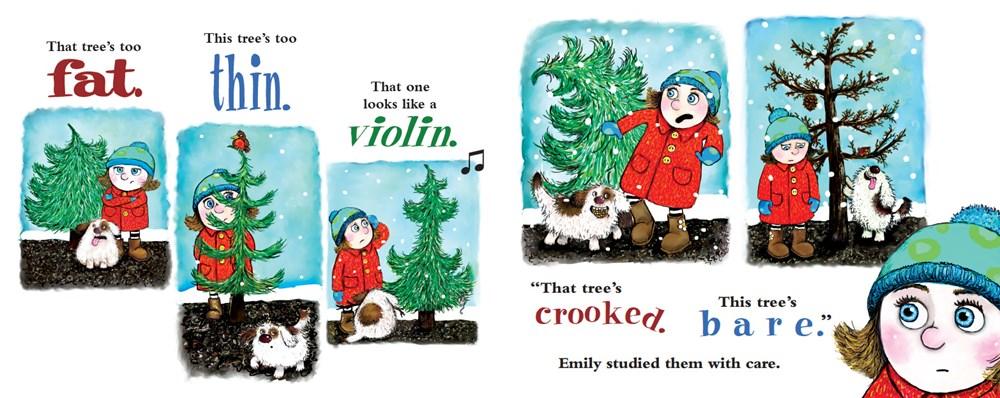 Emily's Perfect Christmas Tree - CF-9781462117505