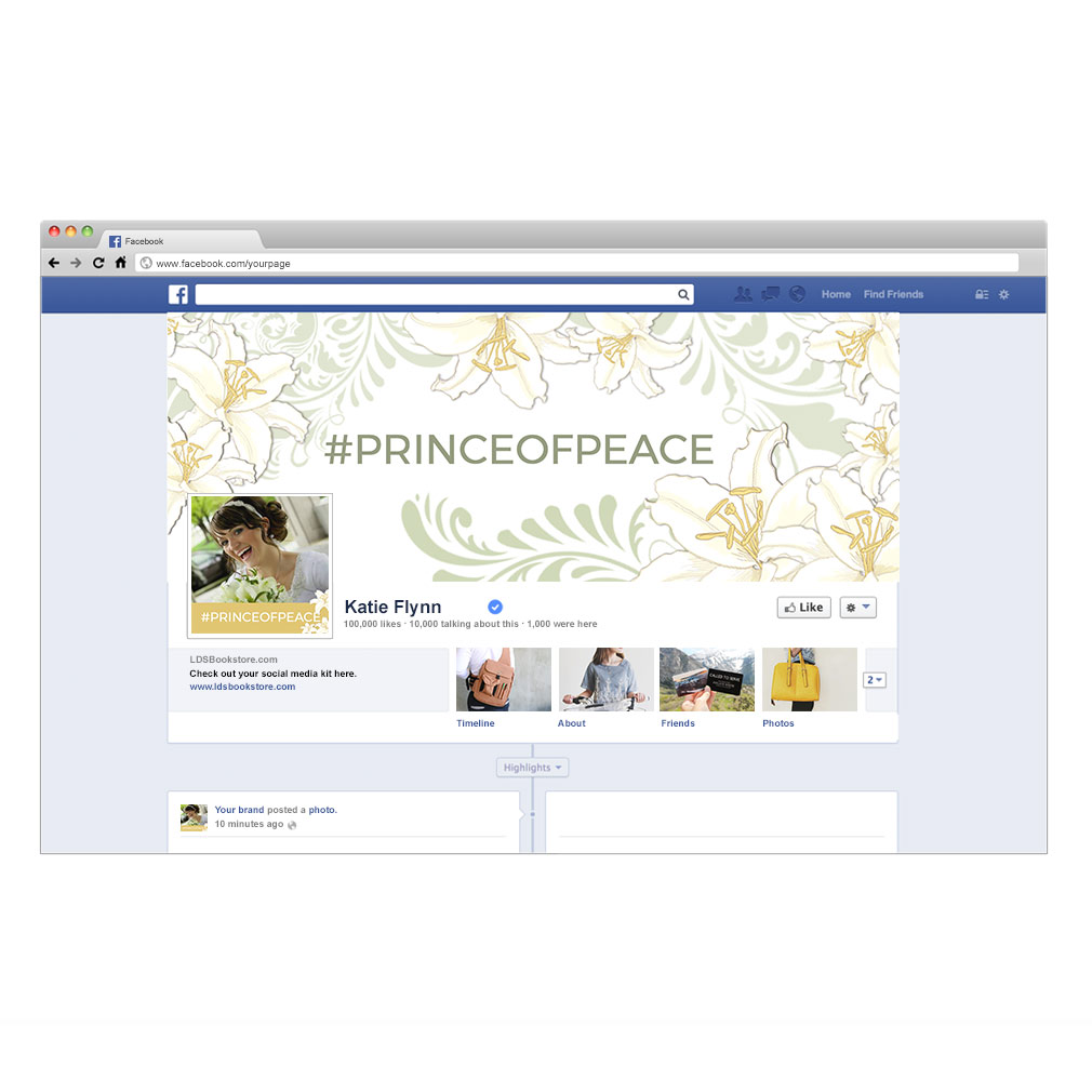 Prince of Peace Social Media Kit - LDPD-POPSMK