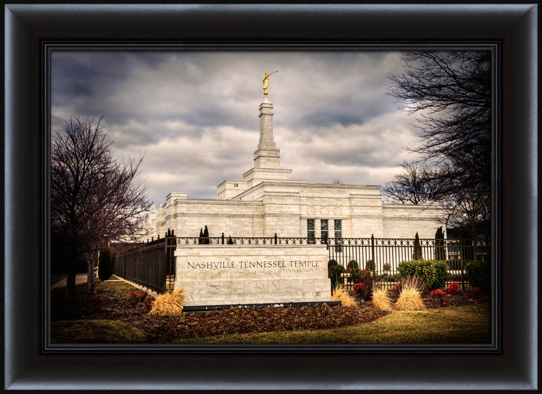 Nashville Temple - Framed in Temple | LDSBookstore.com (#D-LWA-SJ ...