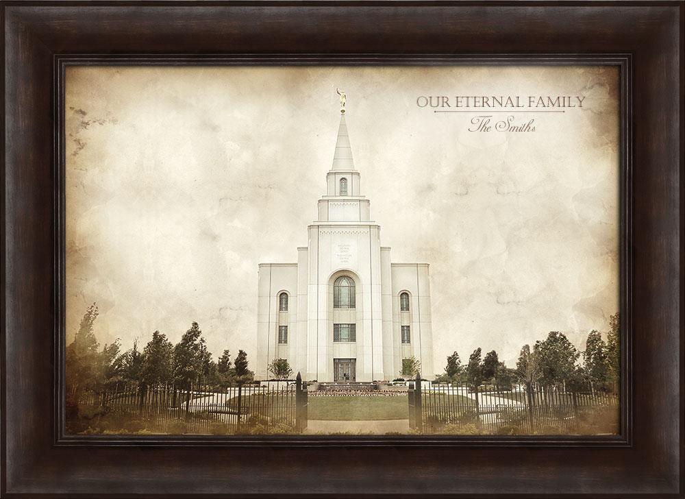 Kansas City Temple - Vintage Framed in Temple | LDSBookstore.com (#D ...