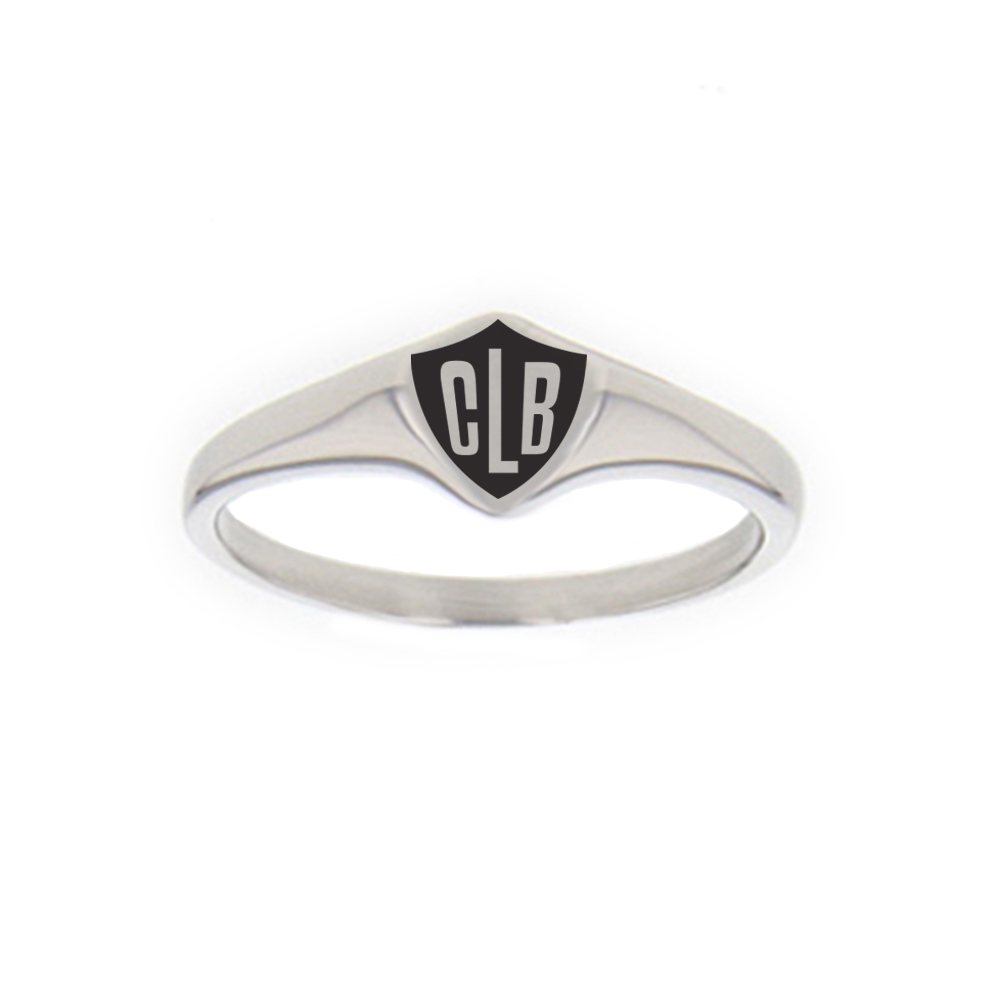 French CTR Ring - Mini french ring, french ctr ring, stainless steel ring, language ring, france, french