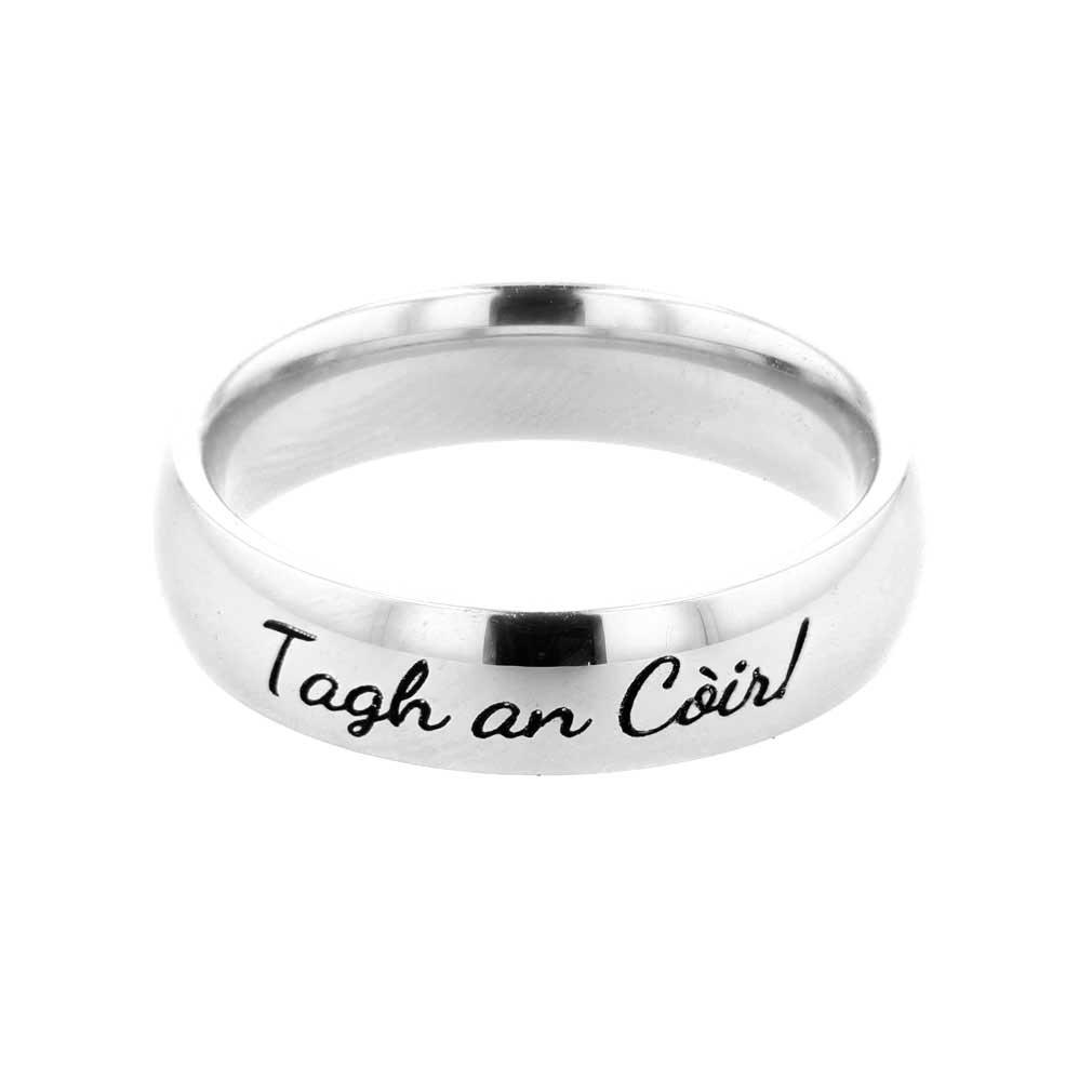 Gaelic Choose the Right Ring - Narrow - LDP-RNGC15178