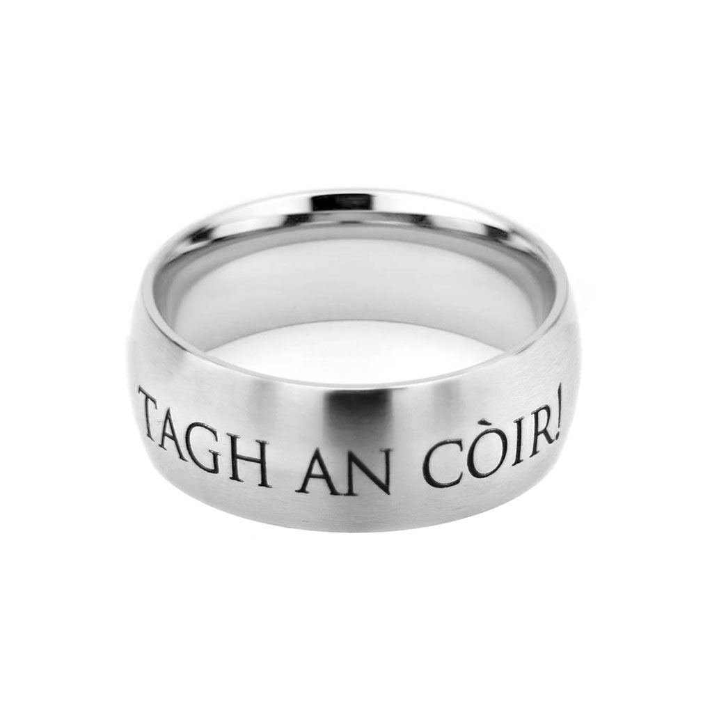 Gaelic Choose the Right Ring - Wide - LDP-RNGB15178